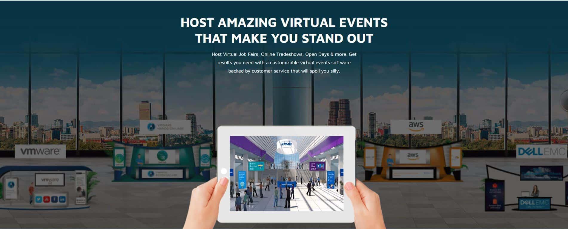 Virtual Events Platform Host Amazing Online Events Vfairs