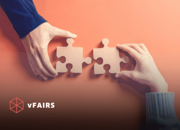 vfairs integrations with HubSpot and Cvent
