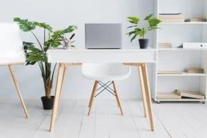 comfortable work desk